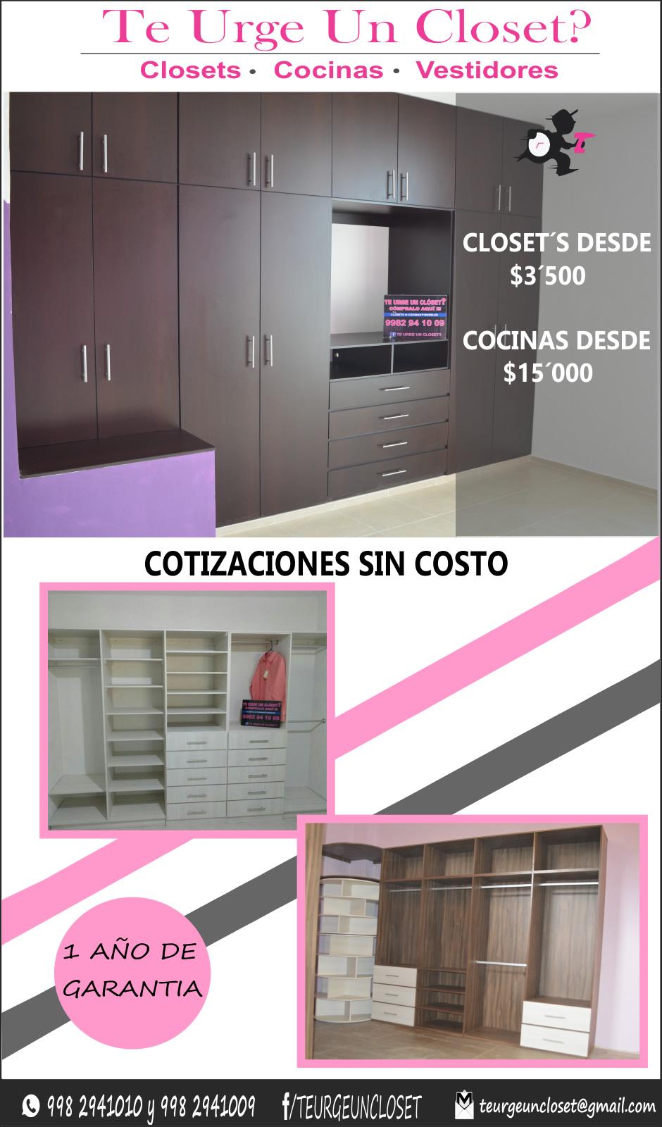 Closets y Cocinas