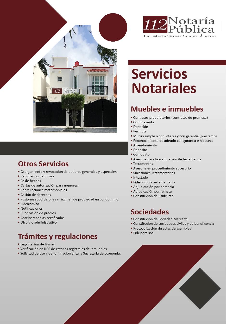 Notaria Publica 112