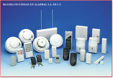 Componentes Maxima Seguridad en Alarmas